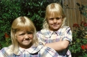 Gemma and Sophie back when we were cute!